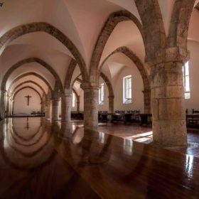 Il Refettorio dell'Abbazia (Foto di Alessio Matteucci)