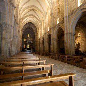 La navata centrale dell'Abbazia di Casamari (Foto di Alessio Matteucci)